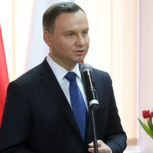 ANDRZEJ DUDA CALLED FOR THE 100TH ANNIVERSARY OF THE INDEPENDENCE OF POLAND TO BE CELEBRATED