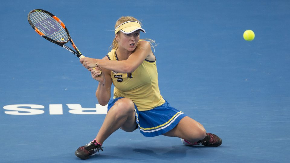 SVITOLINA IS ALMOST TO FINALS IN BRISBANE