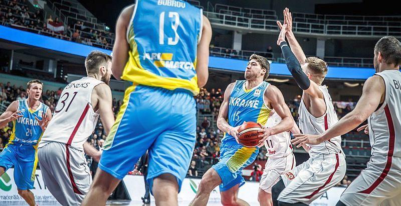 The Ukrainian national team impressively won Latvia at the away match