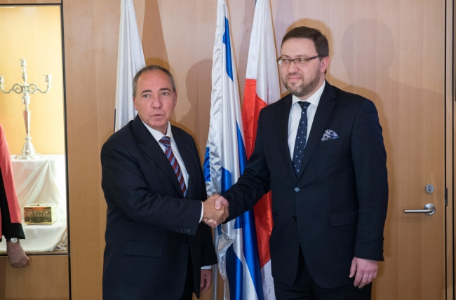 THE ISRAEL FOREIGN MINISTRY ISSUED A СONCERN TO THE UPDATED LAW ON INP OF POLAND