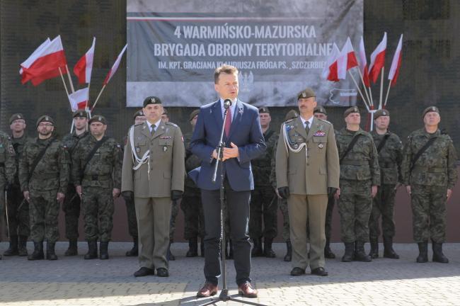 У місті Моронґ відбулася присяга місцевої бригади територіальної оборони