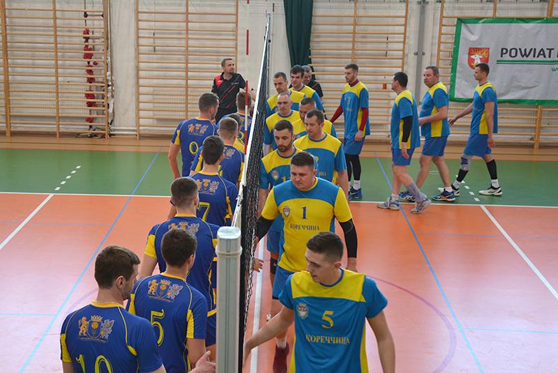 Волейболісти з Корця виграли кубок старости Люблінського повіту