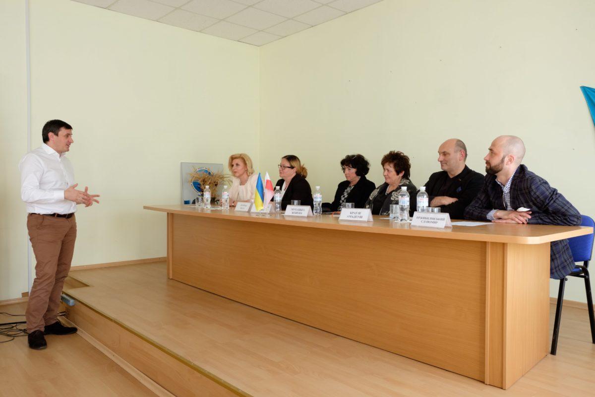 Голова Державної служби якості освіти Руслан Гурак та польські колеги обговорили перспективи співпраці