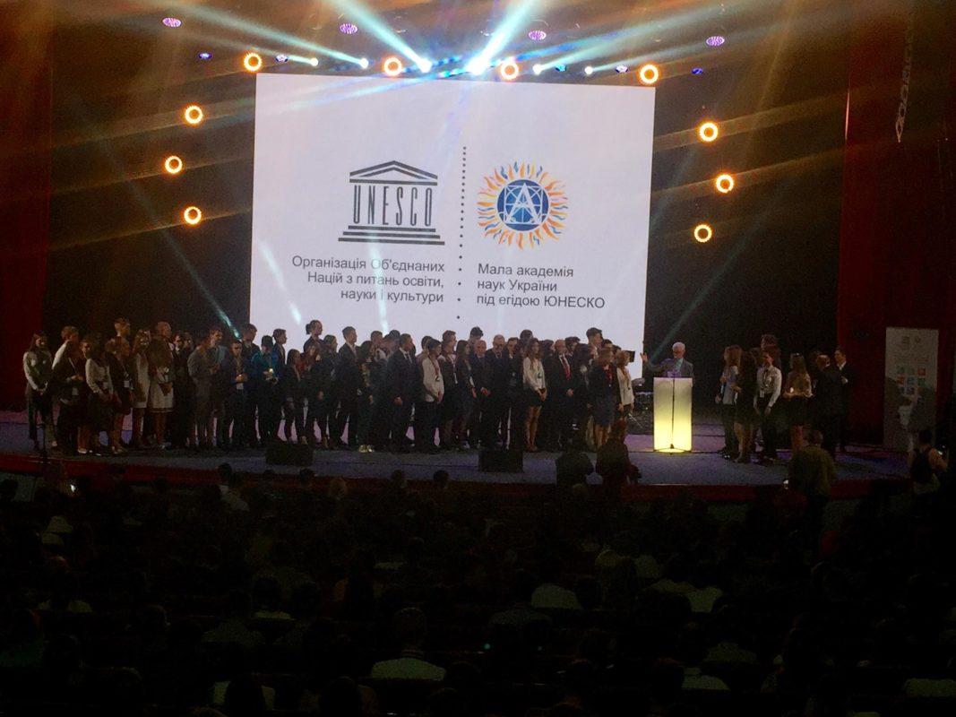 Церемонія нагородження переможців