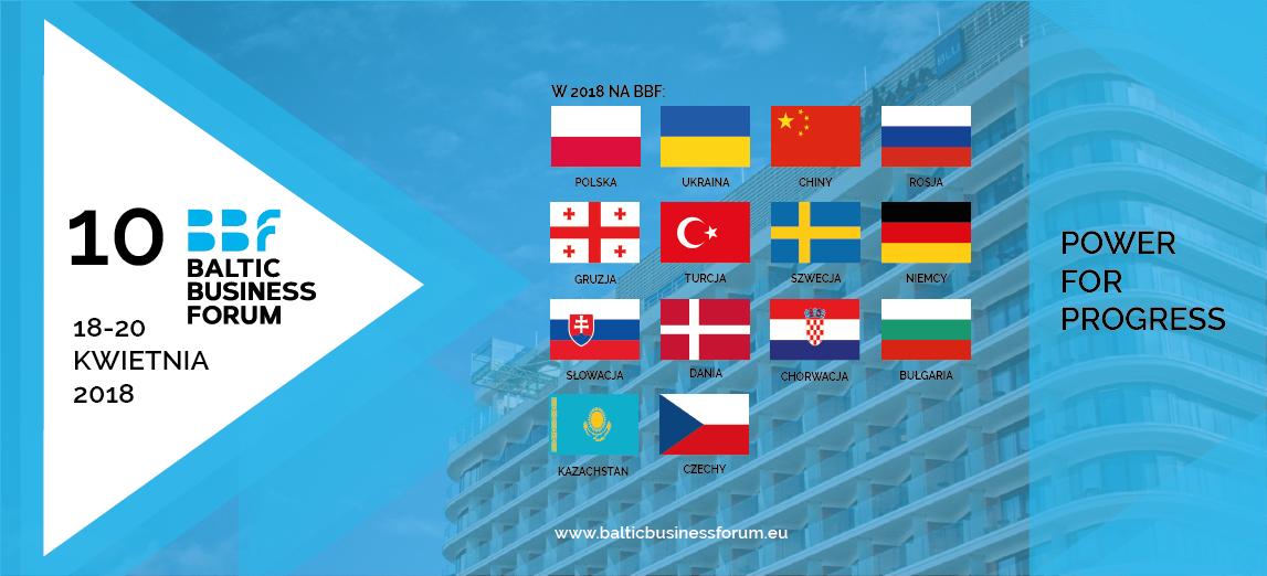 Наближається 10-й ювілейний Baltic Business Forum