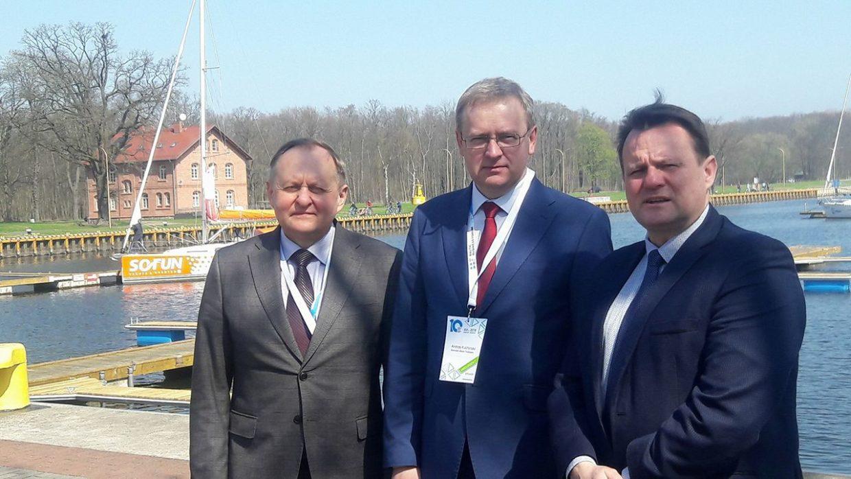 Під час  X Baltic Business Forum підписано меморандум про співпрацю між українським м.Трускавець та польським м.Свіноуйсцє.
