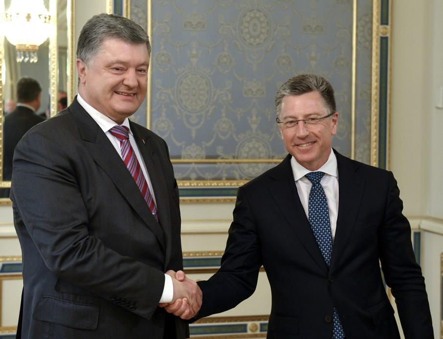 Президент України зустрівся зі Спеціальним представником США по Україні