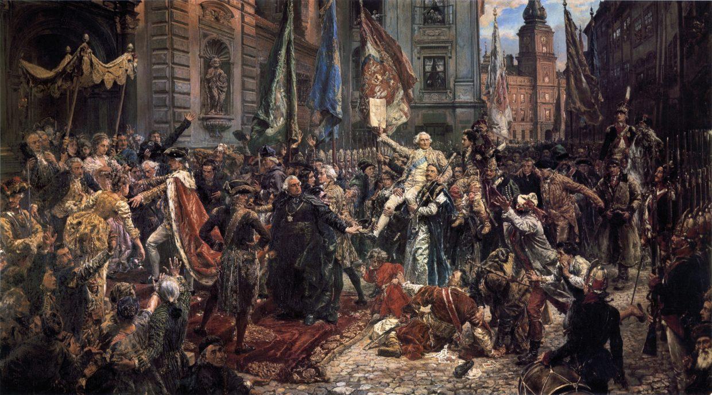 17 травня в Національному заповіднику «Софія Київська» відбулась офіційна урочистість з нагоди 227 річниці підписання Конституції 3 травня.