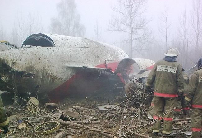 Росія має повернути Польщі уламки Ту-154
