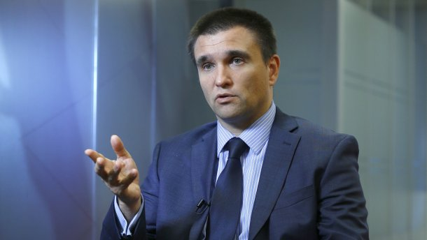 Павло Клімкін закликав світ допомоти у звільненні українських політв'язнів у Росії