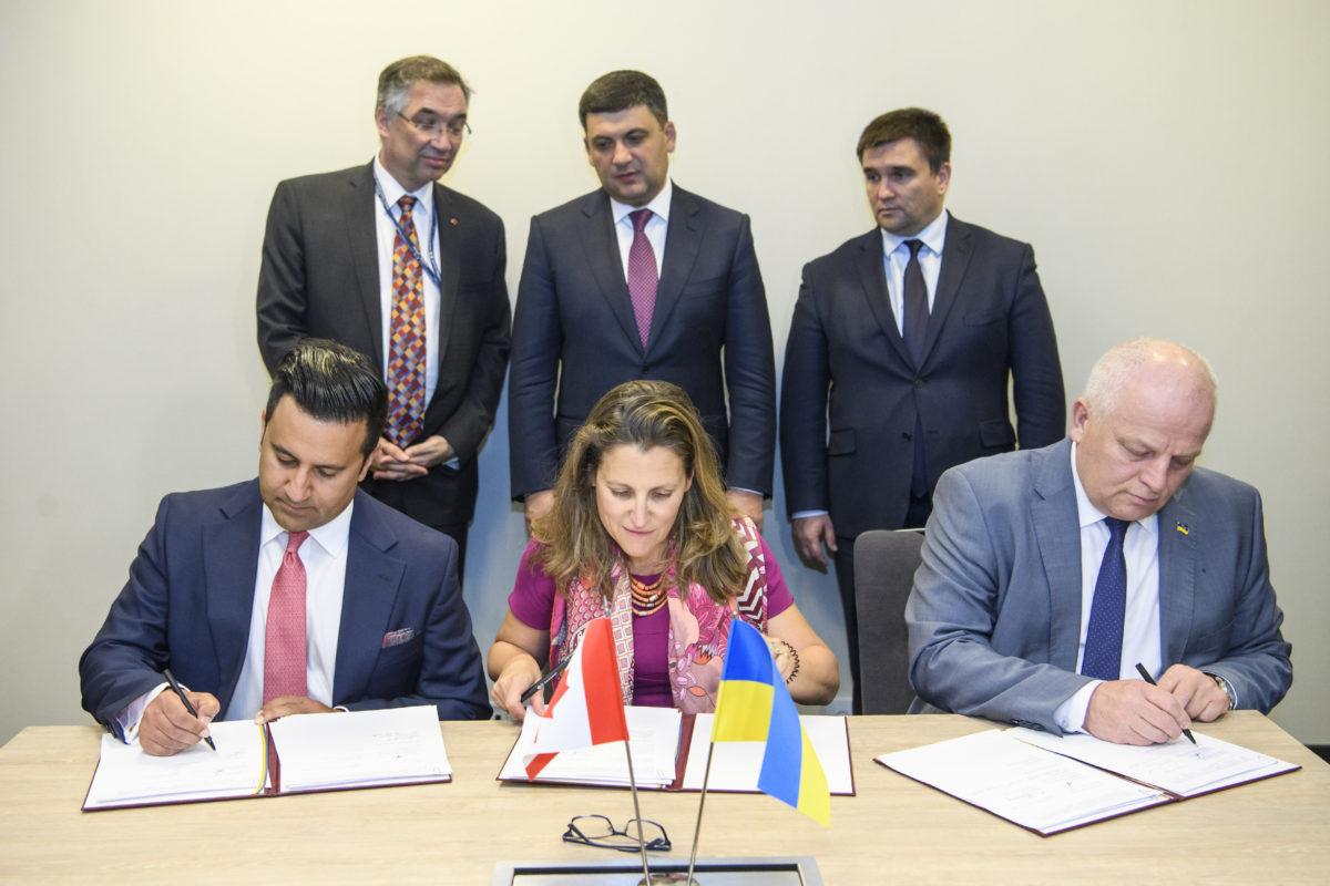 Україна готова збільшувати масштаби співпраці з країнами G7