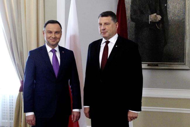 Президент Польщі отримав найвищу державну нагороду Латвії