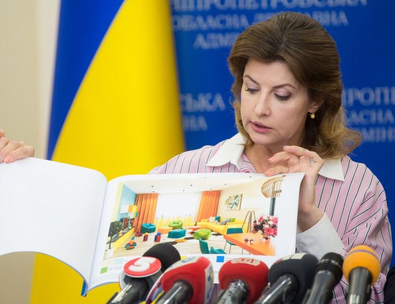 Дружина Президента презентувала проект будівництва Малого групового будинку для дітей-сиріт