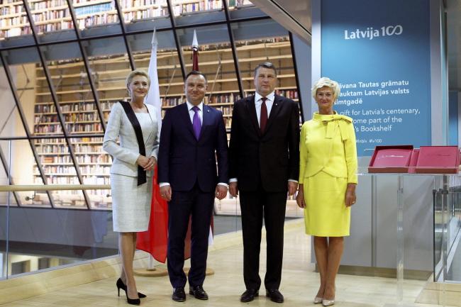 Президенти Польщі і Латвії розмовляли про майбутній саміт НАТО