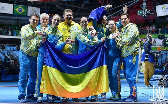 Жіноча збірна України з фехтування на шаблях виграла «срібло» Євро-2018