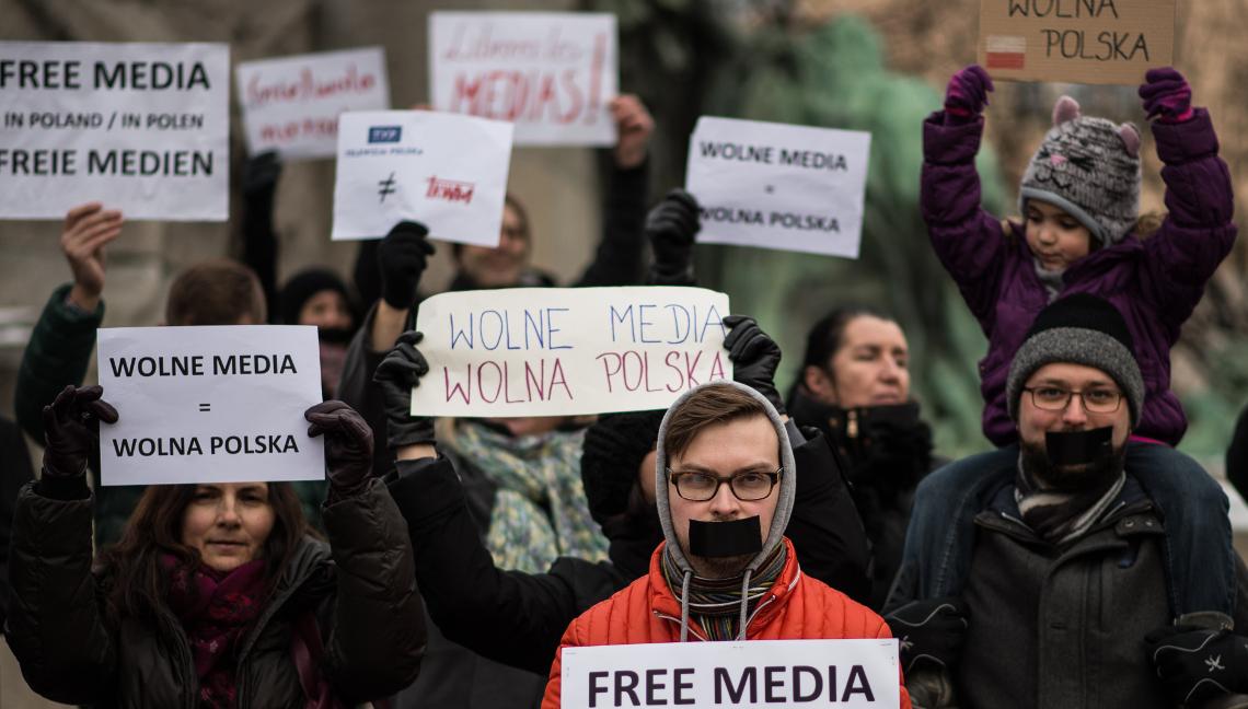 У Вроцлаві відбудеться протест проти цензури в Інтернеті