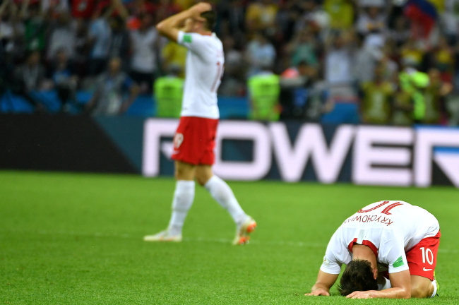 Вітольд Банька: польські футболісти були в усьому слабші за Колумбію