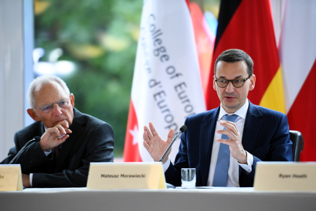 Польський прем'єр закликав створити План Маршала для Африки