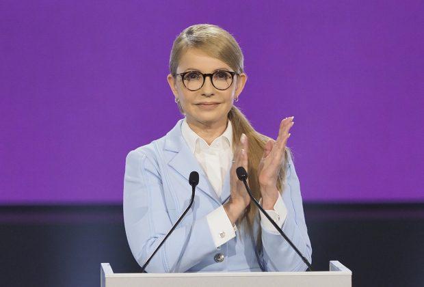 """Тимошенко заявила, що йде в президенти України з метою """"демонополізувати владу"""""""