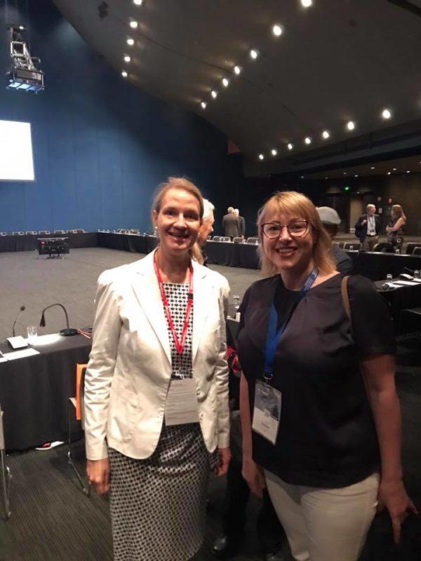 Конгрес закінчився. Новим президентом IPSA обрано німкеню Маріанне Кнеуер.