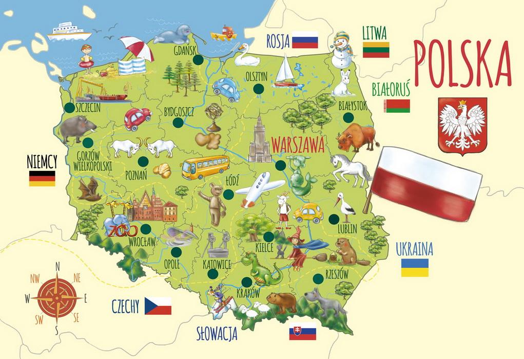 ТОП-10 цікавих фактів про Польщу