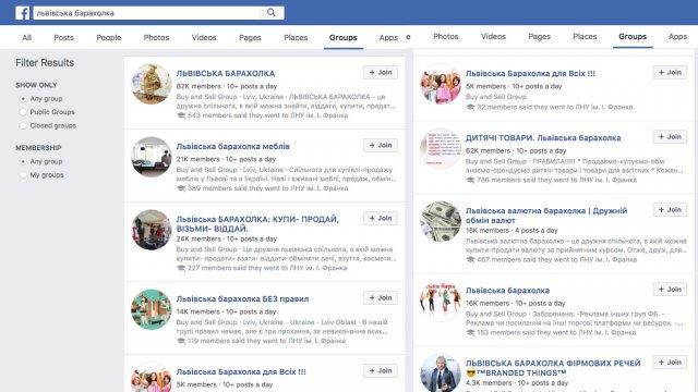Львівська поліція почала розслідування зміни адміністратора у двох «барахолках» на Facebook