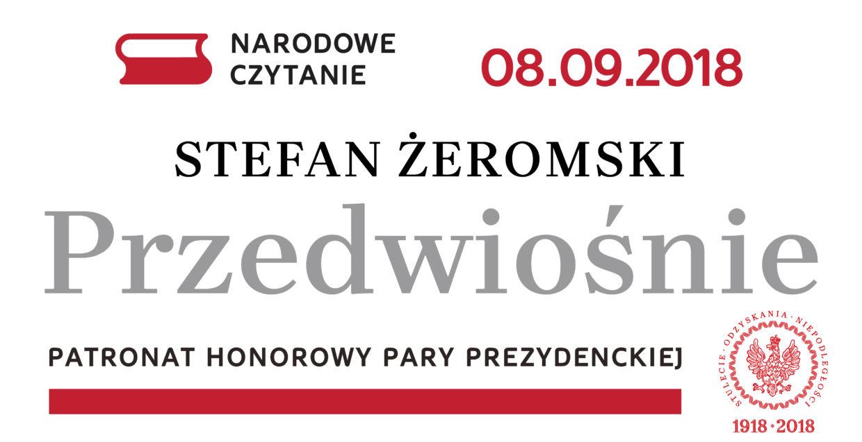 Національне читання – 2018: поляки читатимуть «Провесну» Стефана Жеромського