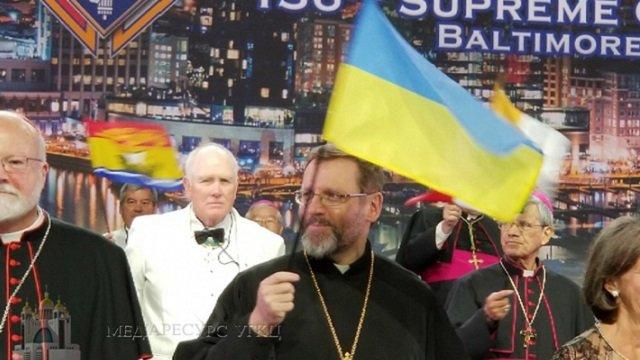 Патріарх УГКЦ у США згадав бранців Кремля і закликав світ не забувати про війну в Україні