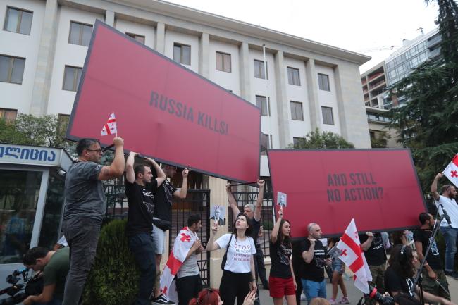 Грузини бояться чергової російської агресії