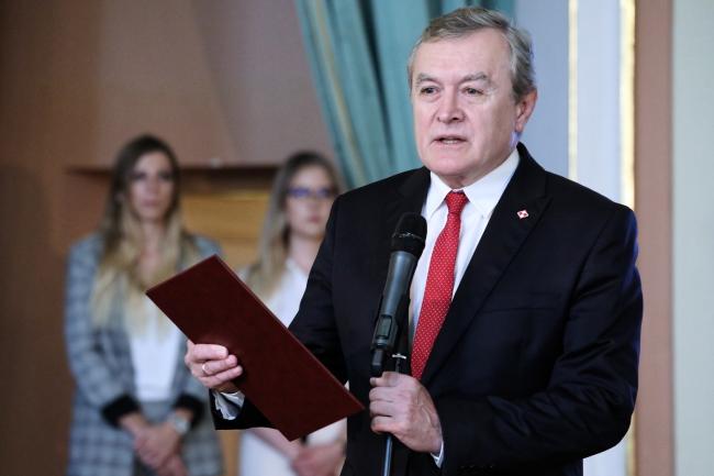 Польський віце-прем'єр на пленарному засіданні Генеральної асамблеї ВОІВ