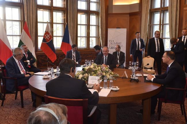 Зустріч лідерів Вишеградської групи присвячена темі міграції