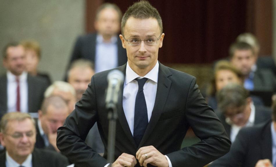 Голова угорського МЗС звинуватив ВРУ в підіграванні «екстремістам»