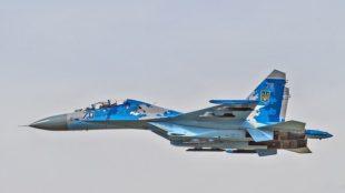 На спільних авіанавчаннях з НАТО розбився літак Су-27