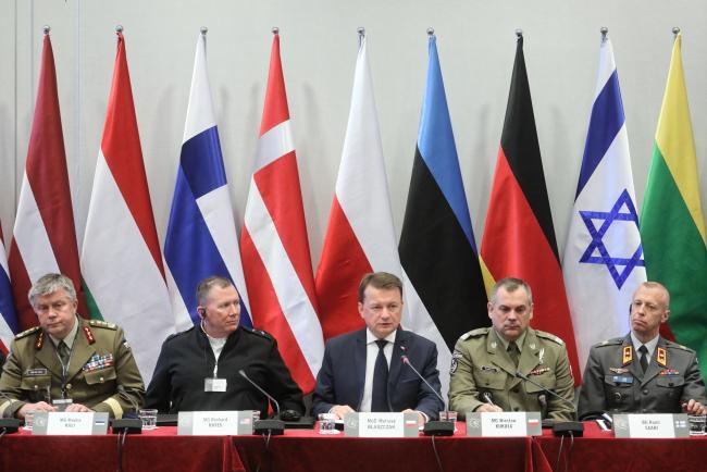 Міжнародна зустріч командувачів територіальної оборони у Варшаві