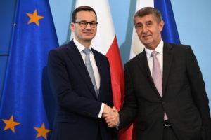 Варшаву відвідав прем'єр-міністр Чехії Андрей Бабіш