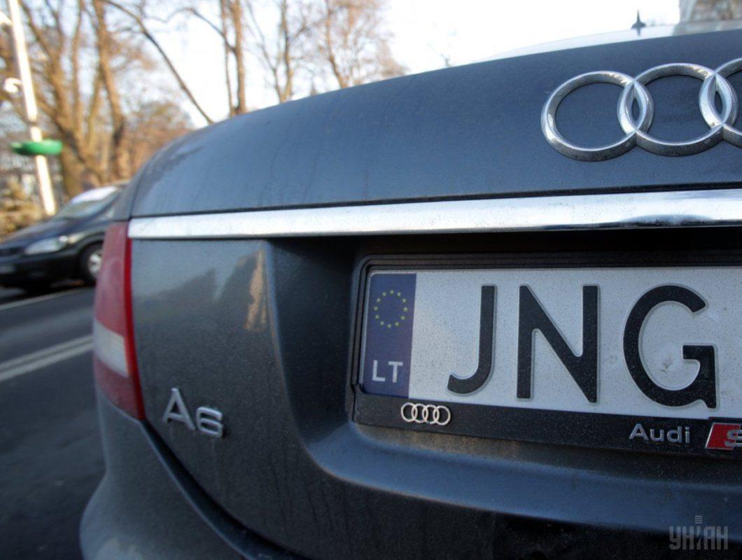 Верховна Рада прийняла закон про доступне розмитнення автомобілів на єврономерах