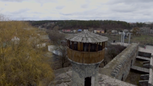 Руины крепости Звягель. Украина. Ровенская область.