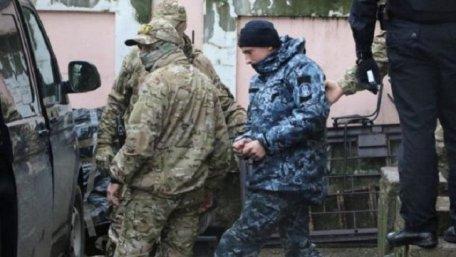 До українських моряків, які перебувають в російському полоні, пустили перших відвідувачів