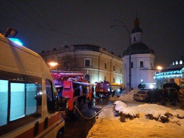 Поліція встановила причини пожежі у Києво-Печерській лаврі