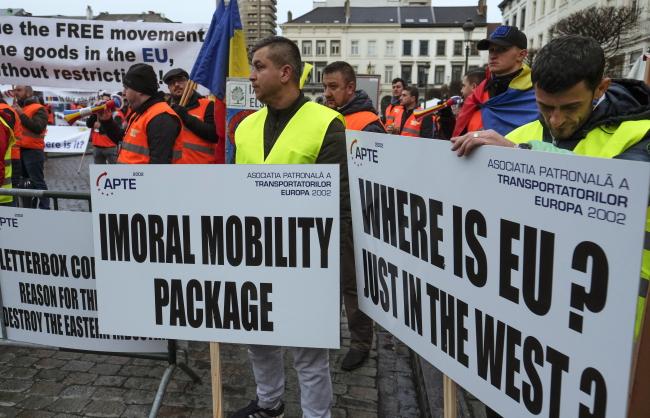 У Брюсселі відхилено некорисні для польського транспорту правила