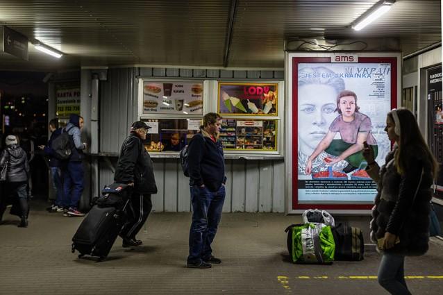 Трудова міграція на плакатах та фото: «Я – українка» у Польщі
