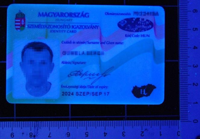 Громадянин України хотів в'їхати до Польщі з підробленим угорським документом