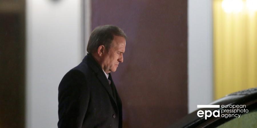 ГПУ открыла дело против Медведчука по подозрению в госизмене и сепаратизме