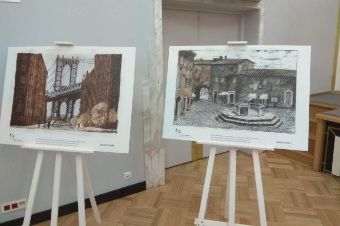 У Варшаві відкрили виставку малюнків Романа Сущенка – U.P.M.P ce221367d85db