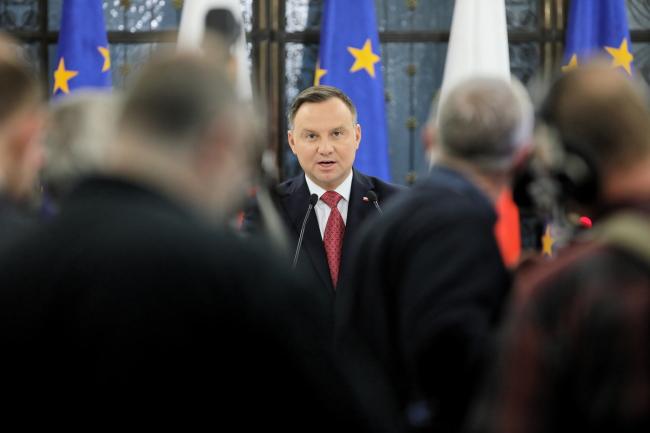 Анджей Дуда закликає уряд збільшити фінансування польської армії