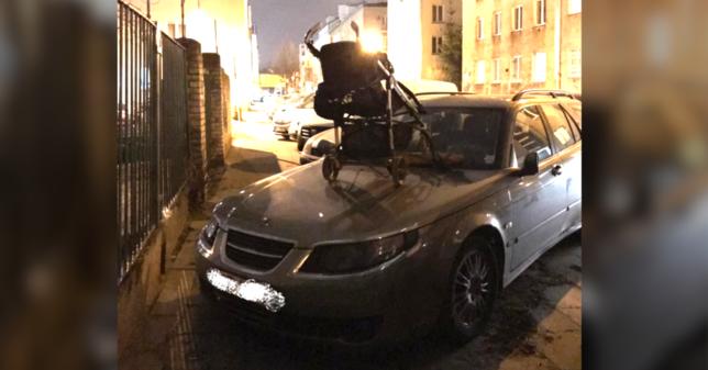 """У мережі показали помсту мешканця Варшави нахабному """"герою парковки"""" (фото)"""