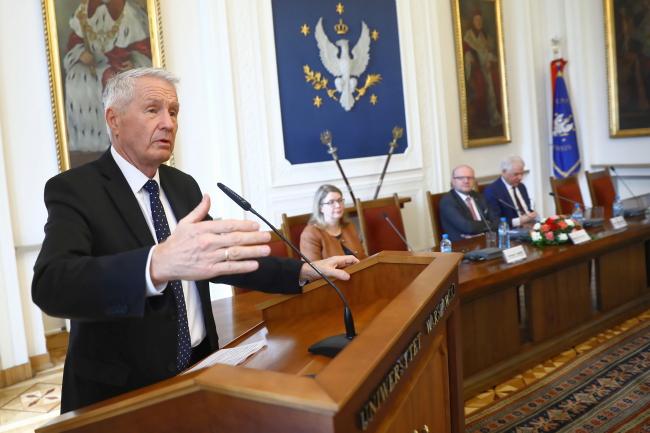 Очільник Ради Європи Турб'єрн Яґланд з візитом у Польщі
