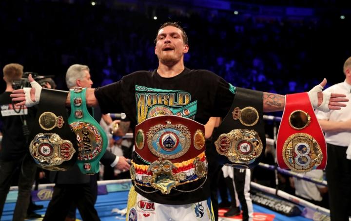 Офіційно: Олександр Усик відмовився від пояса WBA і бою з росіянином Лебедєвим