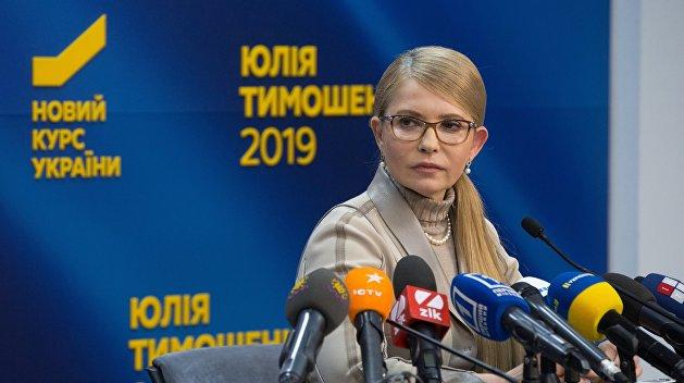 Брифінг Юлії Тимошенко після закінчення голосування на виборчих дільницях