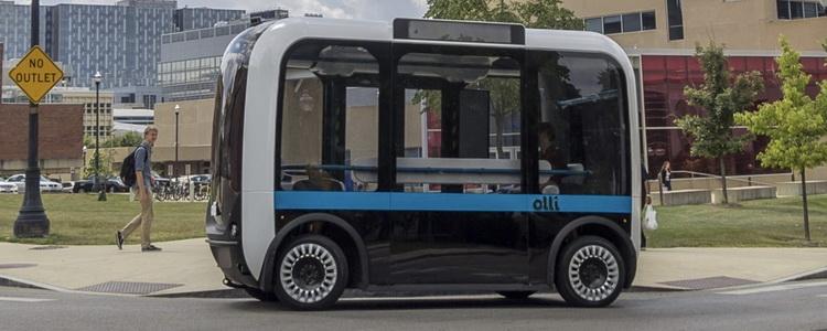 Зустрічайте «Olli» – автобус із 3D-принтера на автопілоті